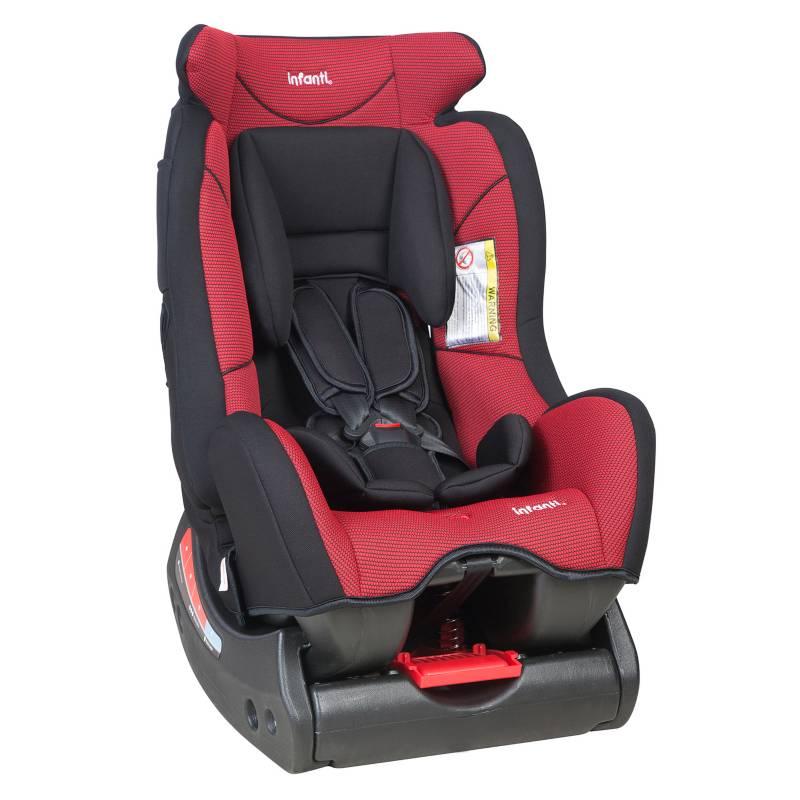 Infanti - Silla Auto Infanti S500 Rojo-Negro