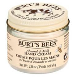 Burts Bees - Crema de Manos Burt's Bees con Cera de Abejas y Leche de Almendras 55 gr