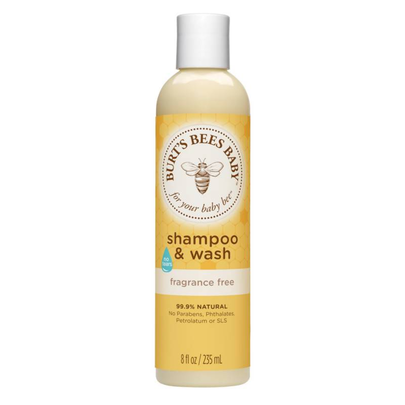 BURTS BEES - Shampoo y Jabón Baby Bee Libre de Fragancia 235 ML