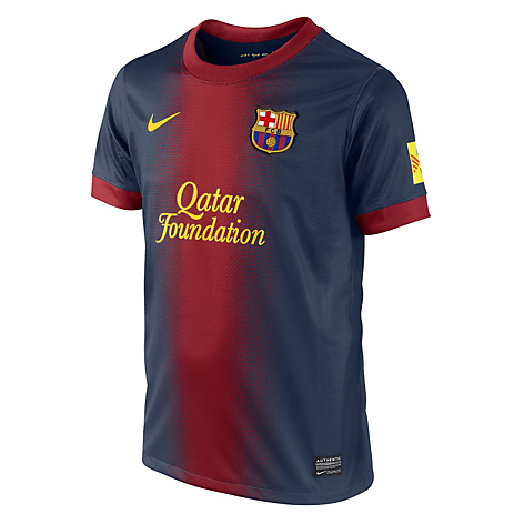 53eb3af0fdc72 Nike Réplica Jr Camiseta Barcelona Local - Falabella.com