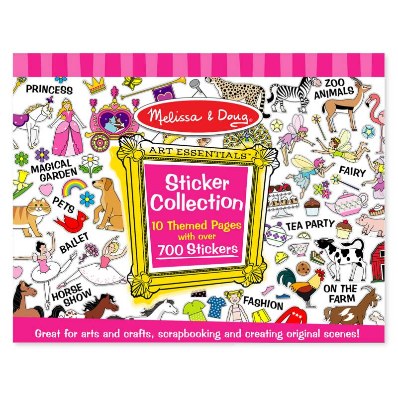 MELISSA & DOUG - Sticker Colección Pink