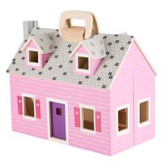 MELISSA & DOUG - Mini casa de muñecas Melissa & Doug
