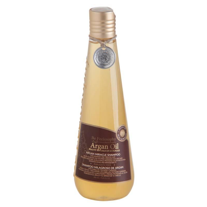 BE FEELOSOPHY - Shampoo Milagroso de Argán Oil 350 ml