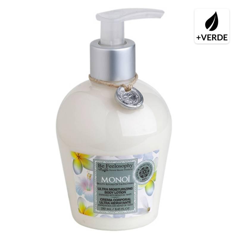 BE FEELOSOPHY - Crema Corporal Ultra Hidratante Monoï 250 ml