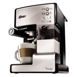 Oster - Cafetera Express Primalatte Silver