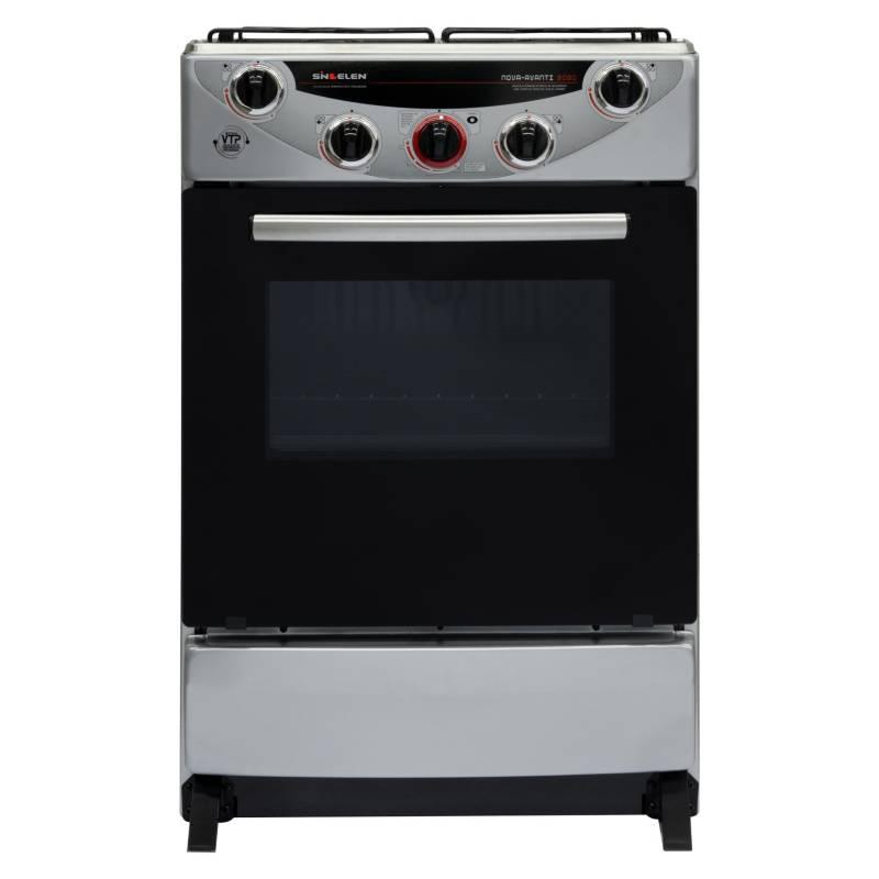 SINDELEN - Cocina Gas 4 Quemadores CH-9050SIL