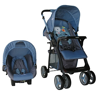Coche Travel System Kitty Blue 521