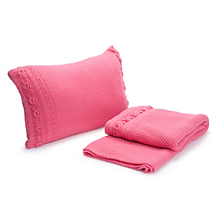 Piecera Luminosa Knitted Fuxia