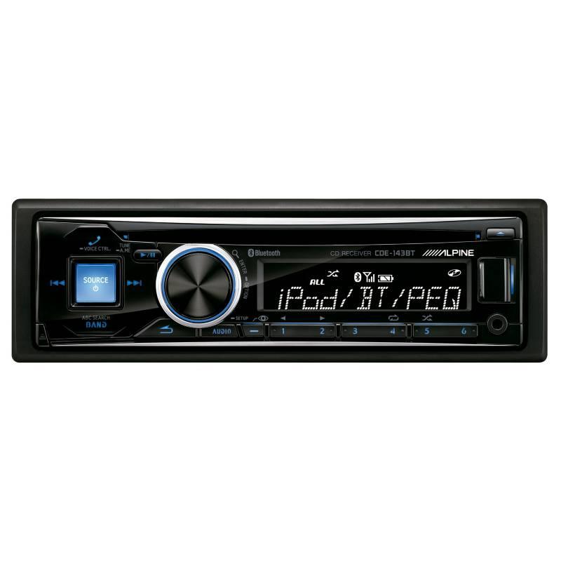 Alpine - Radio de Auto, CDE-143-BT