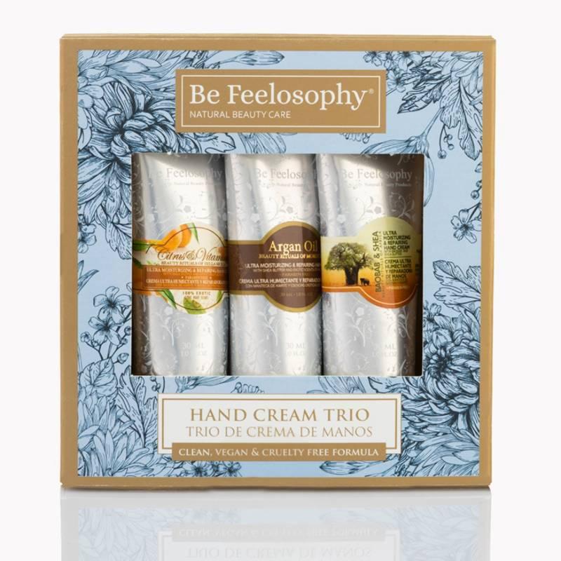 BE FEELOSOPHY - Trío de Cremas de Manos 30 ML