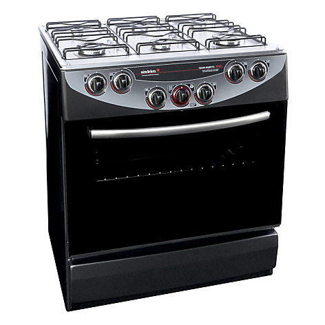 Sindelen cocina 6 quemadores ch 9850 neg for Cocina 6 quemadores