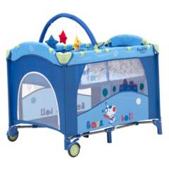 Baby Way - Cuna Corral BW-611A13 Azul
