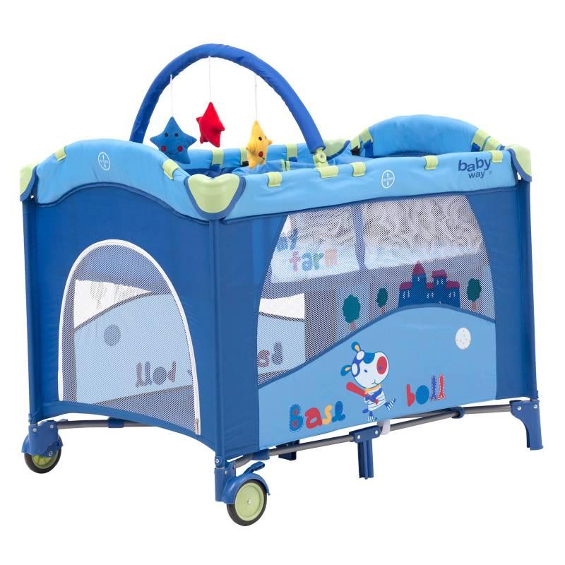 Baby Way - Cuna Corral BW-611A13 Azul