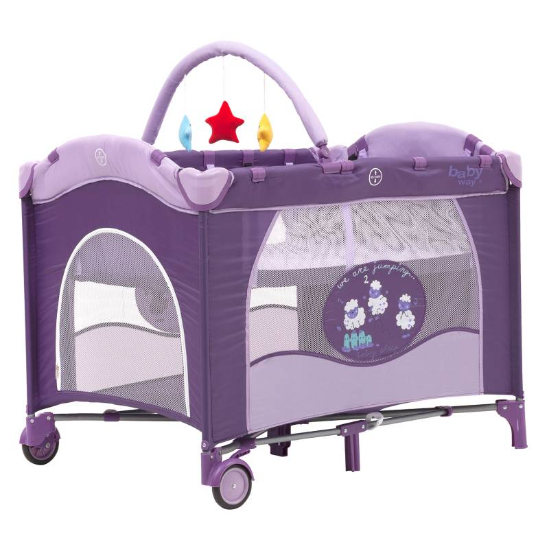 Baby Way - Cuna Corral Pack&Play BW-611A13 Con mudador