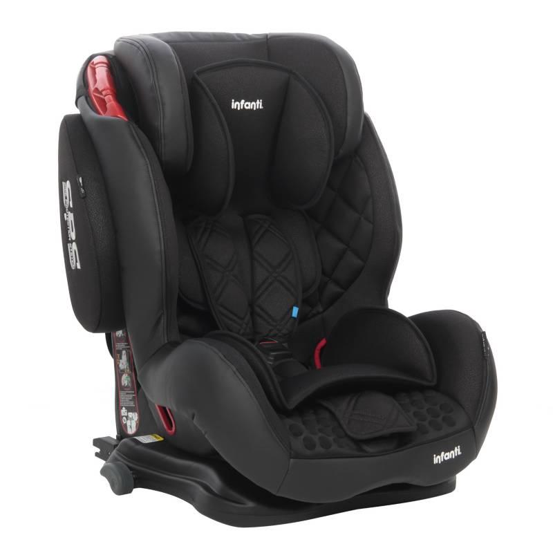 INFANTI - Silla Auto Butaca Elite Isofix Black Stone
