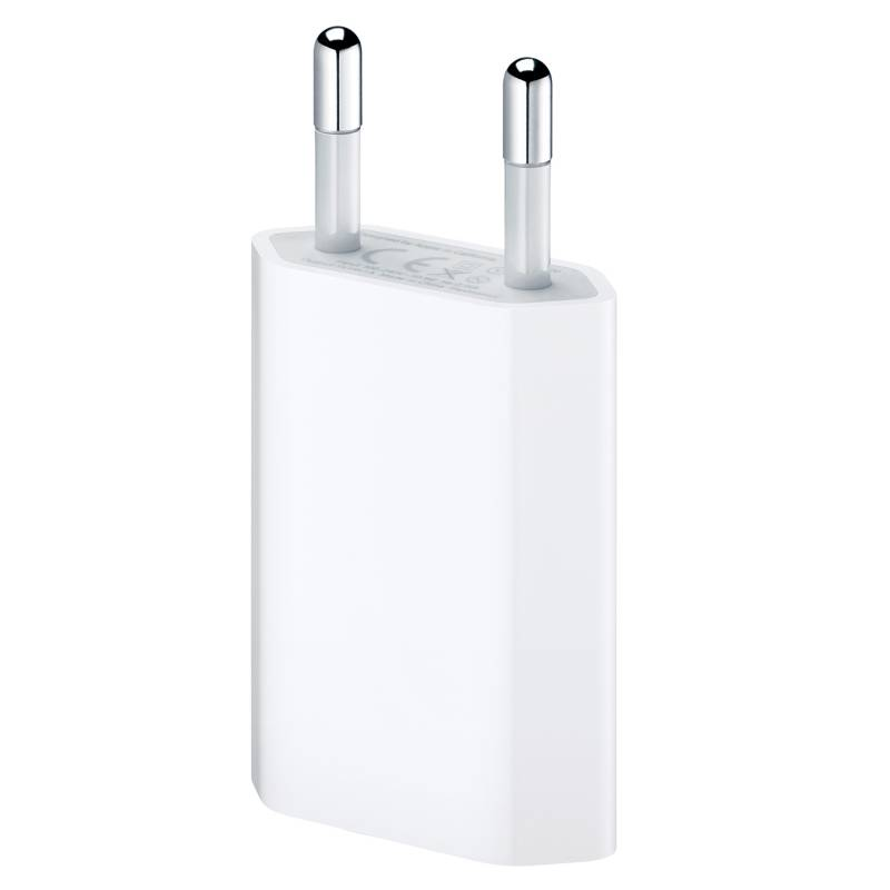 Apple - Adaptador USB Cargador de Pared