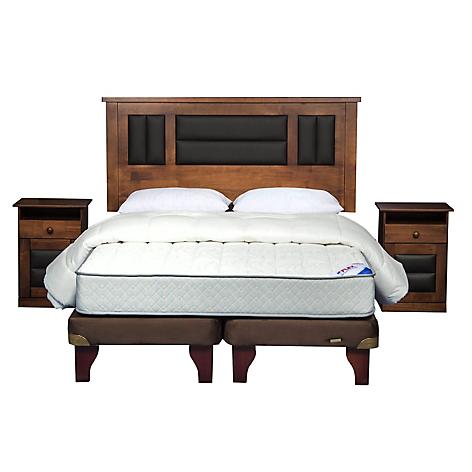 Flex cama europea therapedic 2 plazas bd muebles for Textil cama