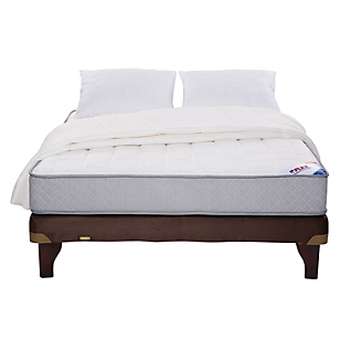 Cama Europea Therapedic 2 Plazas BN + Textil