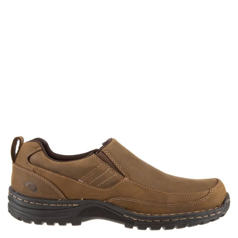 GUANTE - Zapato Casual Hombre Cuero Café