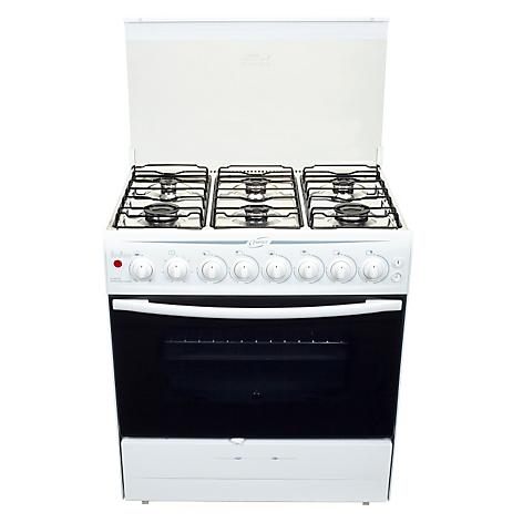 Fensa cocina 6 quemadores f2970b for Cocina 6 quemadores