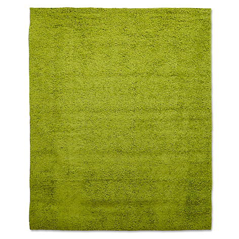Mica alfombra shaggy verde pistacho 133 x 180 cm for Alfombra costo
