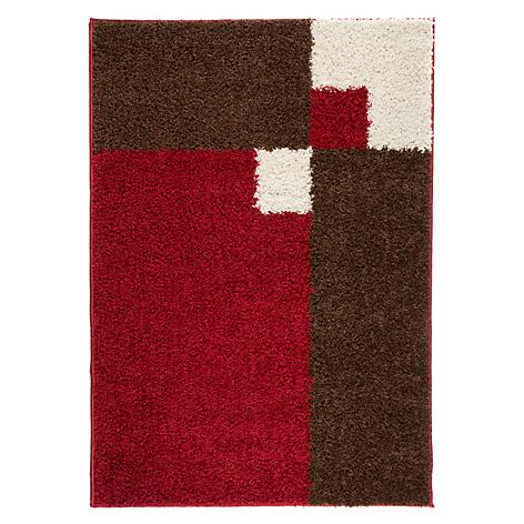 Mica alfombra shaggy alambra rojo 150 x 200 cm for Alfombra 120 x 150