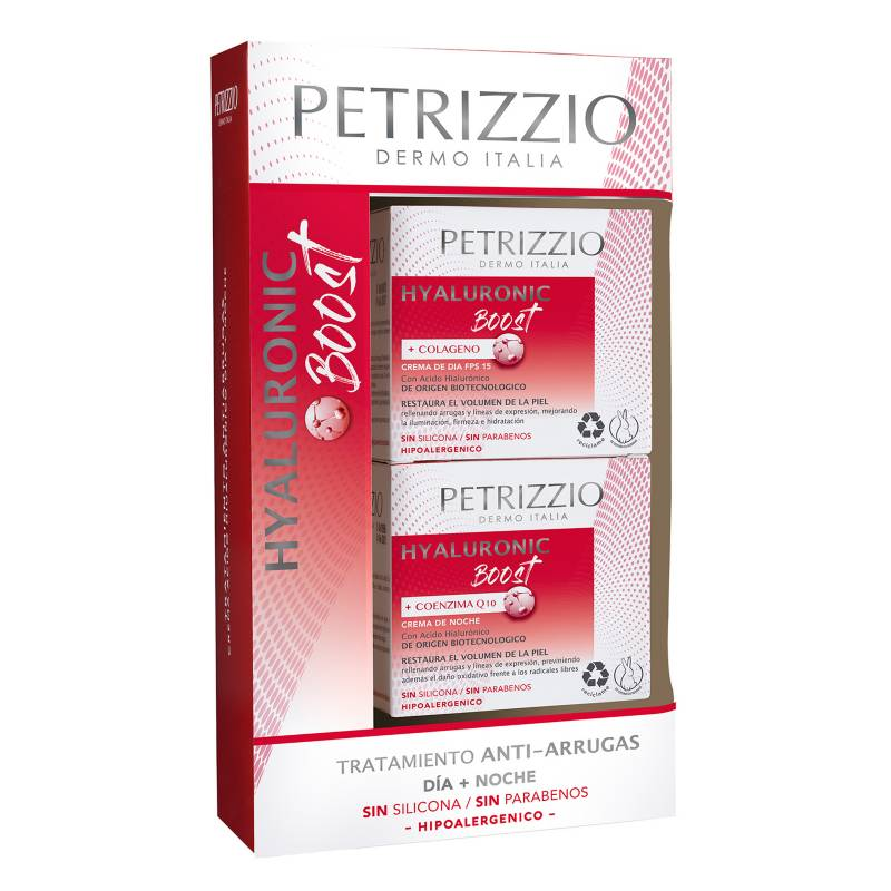 PETRIZZIO - Estuche Hyaluronic Effect Día + Noche 14