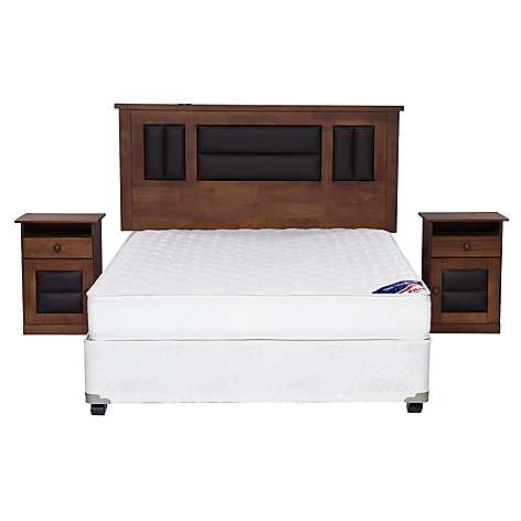 Flex cama americana new entree 2 plazas bn muebles for Sofa cama 2 plazas falabella