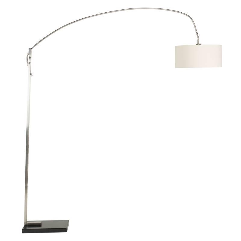 DISEÑO3 - Lámpara de Pie Curva Base Mármol