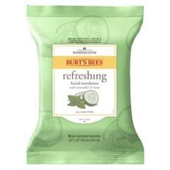 Burts Bees - Toallitas de Limpieza Facial con Extracto de Algodón