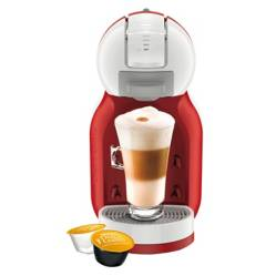 Nescafe - Cafetera con cápsulas Mini Me Red