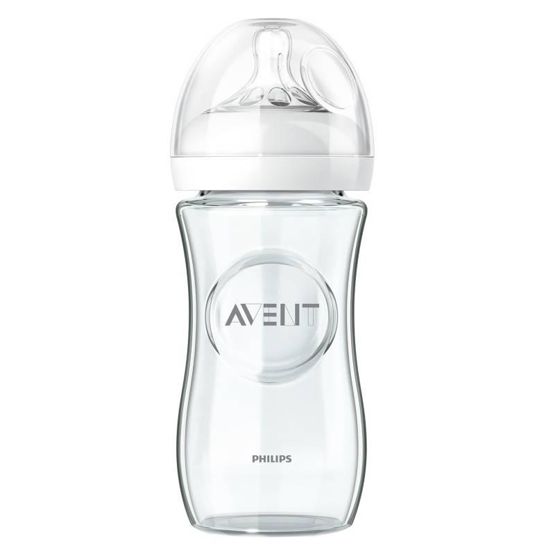 Avent - Mamadera Natural Vidrio 240 ml