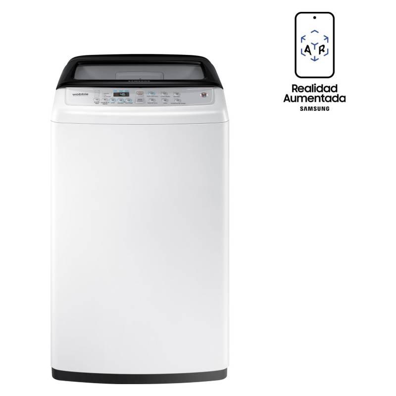 Samsung - Lavadora Automática 9 kg WA90H4400SW/ZS