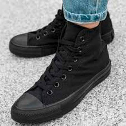 converse negras mujer 35