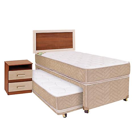 Celta div n cama 1 5 plazas muebles bamboo for Falabella divan