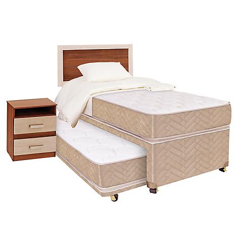 Celta div n cama 1 5 plazas textil muebles bamboo - Cama tipo divan ...