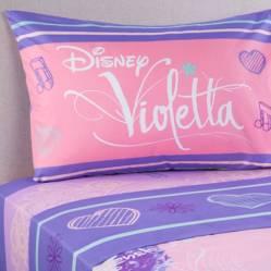 Sábana Violetta Pop Star 1.5 Plazas