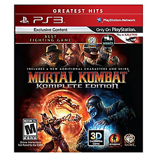 Mortal Kombat Komplete Edition PS3