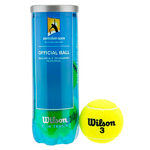 Set de Pelotas Australian Open 3 Ball