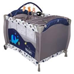 Bebeglo - Cuna Corral Pack Play Azul RS-6190