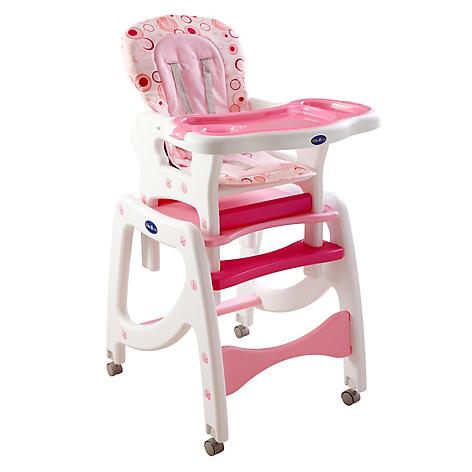 Kidscool silla de comer 3 funciones en 1 for Silla coche nino 7 anos