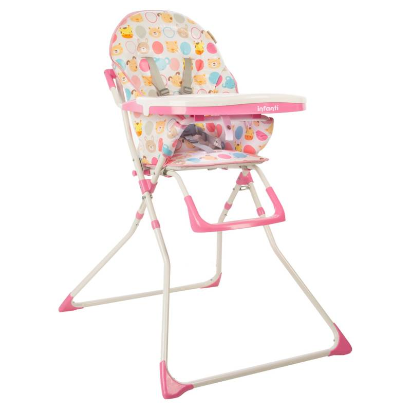 Infanti - Silla Comer Candy pink