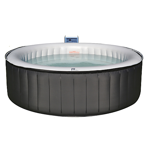 Spa inflable 4 personas temp max 42 for Piscina 6500 litros