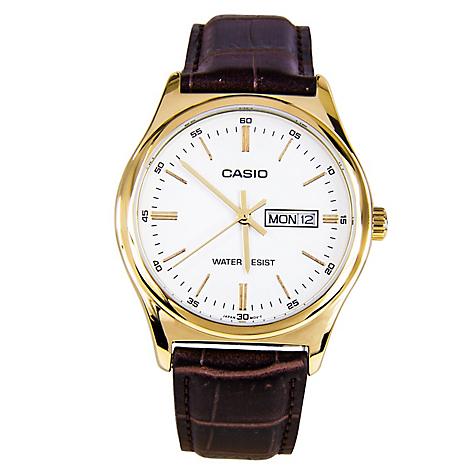 027b96713e11 Casio Reloj Hombre Cuero Marrón - Falabella.com