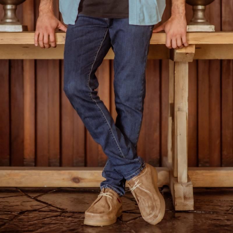 HUSH PUPPIES - Zapato Casual Hombre Cuero