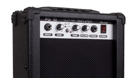 Set Guitarra Electrica 15W Negro