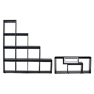 Combo Rack Extensible + Estante Escalera