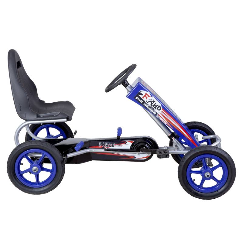 Kidscool - Go Kart a Pedales Grande Azul
