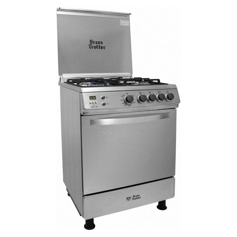 URSUS TROTTER - Cocina 4 Quemadores EURO PRO 60 Gas Natural
