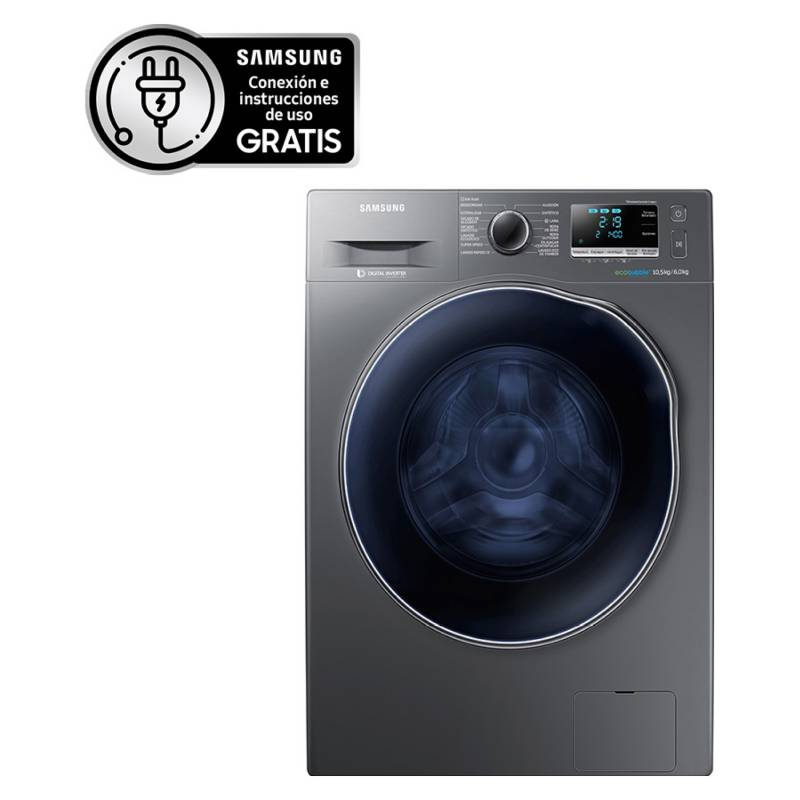 Samsung - Lavadora-Secadora WD10J6410AX/ZS  10,5 Kg / 6 Kg